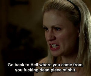 true blood, sookie stackhouse, and quote image
