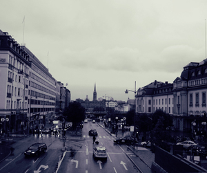 black, city, and streets image