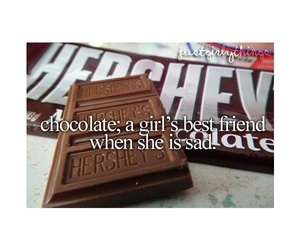 chocolate, girl, and just girly things image