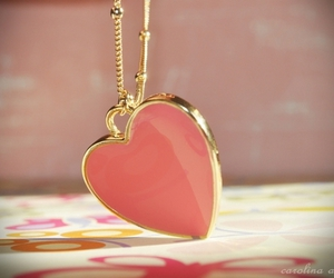 heart, pink, and redhead image