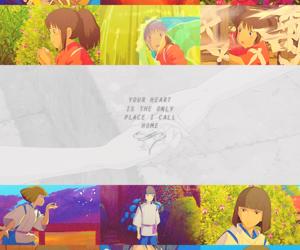 anime, haku, and sen image
