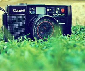 canon, old, and photography image