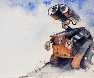 wall-e, art, and disney image