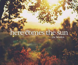 quote, sun, and the beatles image