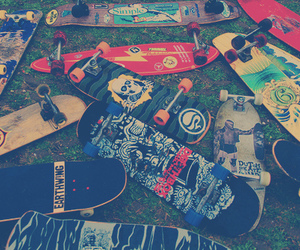 skate and skateboard image