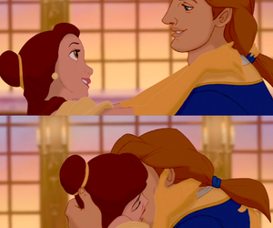 beauty and the beast, separate with comma, and disney image