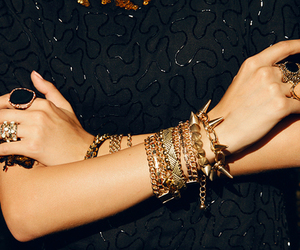 accesories, bangles, and closet image