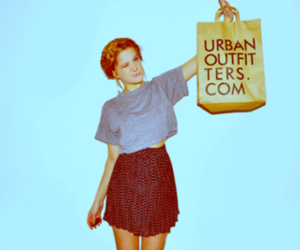 fashion, girl, and urban outfitters image