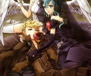 vocaloid, angel, and anime image