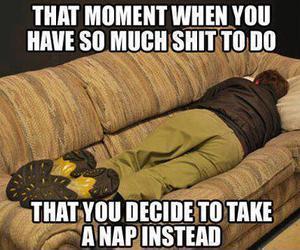 procrastinating image