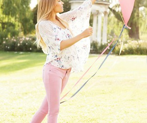 girl, lauren conrad, and pink image