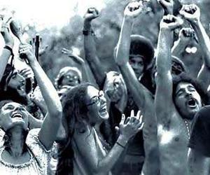 hippie, happy, and hippies image