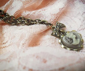 vintage, necklace, and pretty image