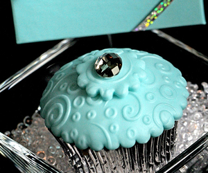 cupcake, tiffany, and blue image