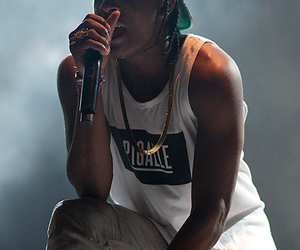 asap rocky, dope, and rap image