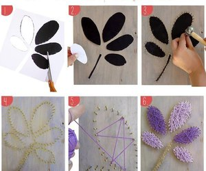 diy, art, and flower image