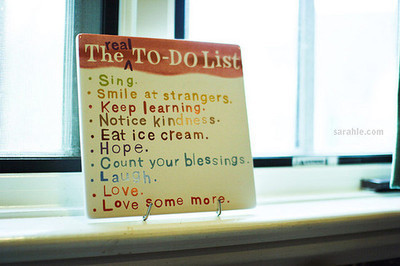 love, laugh, and list image