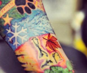 tattoo and ed sheeran image