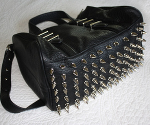 spikes, bag, and cool image