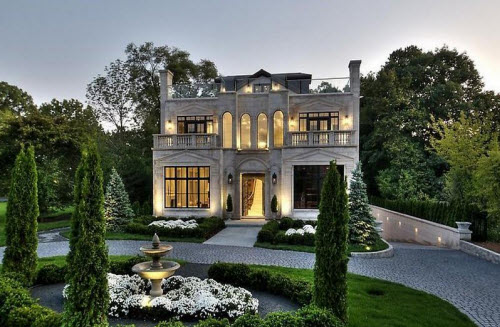 Exotic Excess   Estate Of The Day: $4.1 Million Limestone Mansion In Chicago,  Illinois