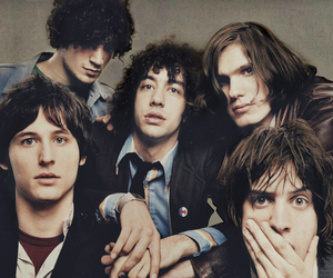 the strokes, julian casablancas, and band image