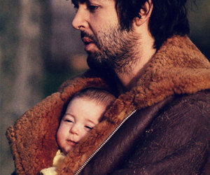 Paul McCartney, baby, and the beatles image