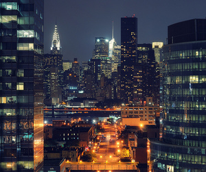 chrysler building, east river, and new york city image