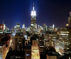 big apple, cityscape, and empire state building image