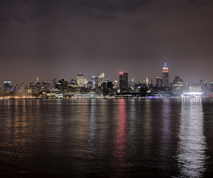 big apple, chrysler building, and empire state building image