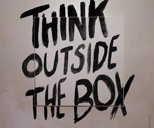 box, think, and quote image