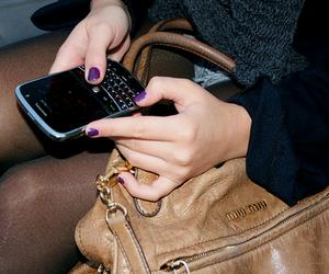blackberry, miu miu, and bag image