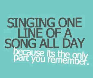 quote, song, and text image