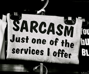 sarcasm, text, and quote image