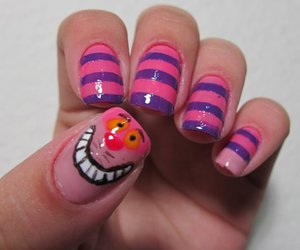nails, alice, and cat image