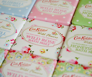 flowers, soap, and cath kidston image