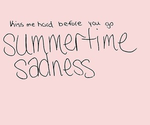 summertime sadness, lana del rey, and song image