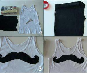 diy, mustache, and moustache image