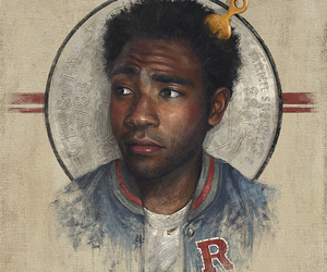 art, childish gambino, and music image