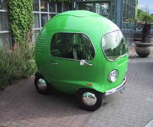 car, green, and funny image