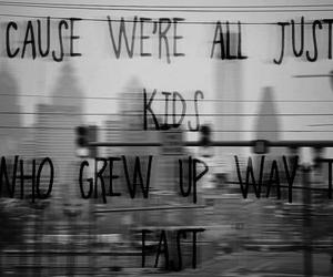 kids and grew up image