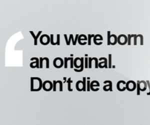 quote, original, and copy image