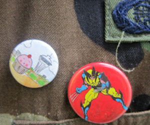 cupcakes, jackets, and army print image