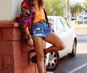 fashion, hippie, and shoes image