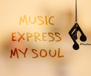 music and typography image