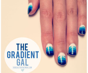 nails and gradient image