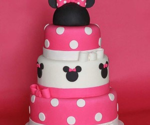 minnie and cake image