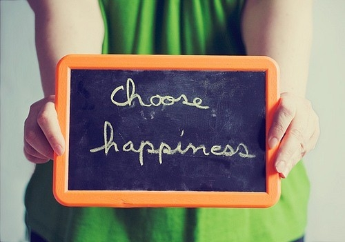 choose, happiness, and life image