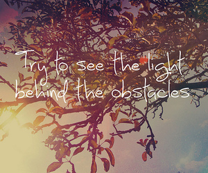 quote, light, and text image