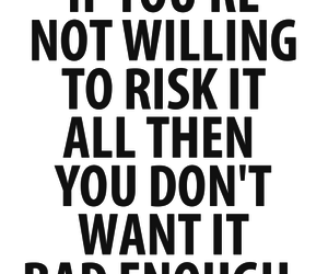 quotes, risk, and text image