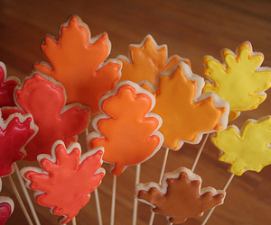 fall, autumn, and Cookies image